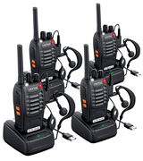 eSynic Long Range Rechargeable Walkie Talkies
