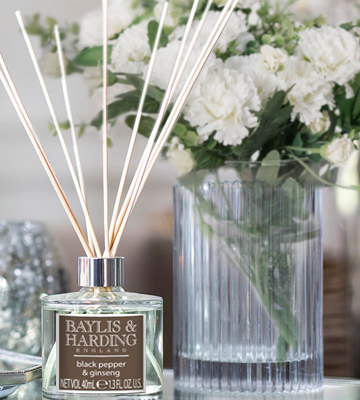 Review of Baylis & Harding Black Pepper & Ginseng Reed Diffuser Duo