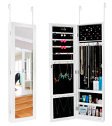 Ezigoo JC-05 Jewellery Cabinet with Mirror