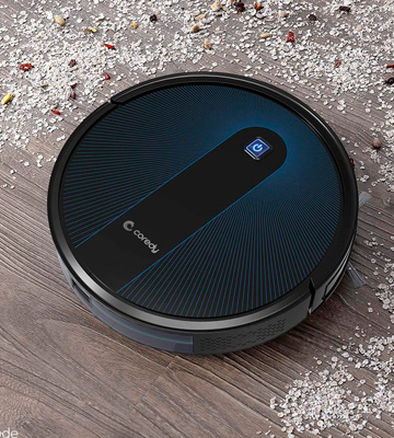 Review of Coredy R650 Robot Vacuum Cleaner Cleans Pet Hair