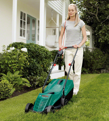 Review of Bosch Rotak 32R Electric Rotary Lawnmower