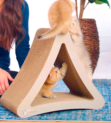 Review of PetFusion 3-Sided Vertical Cat Scratching Post