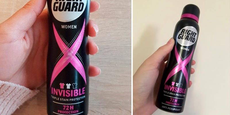 Review of Right Guard _Womens Deodorant High-Performance Anti-Perspirant Spray