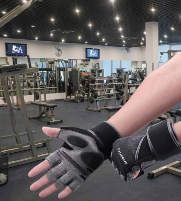 Review of Grebarley Gym Gloves Training gloves