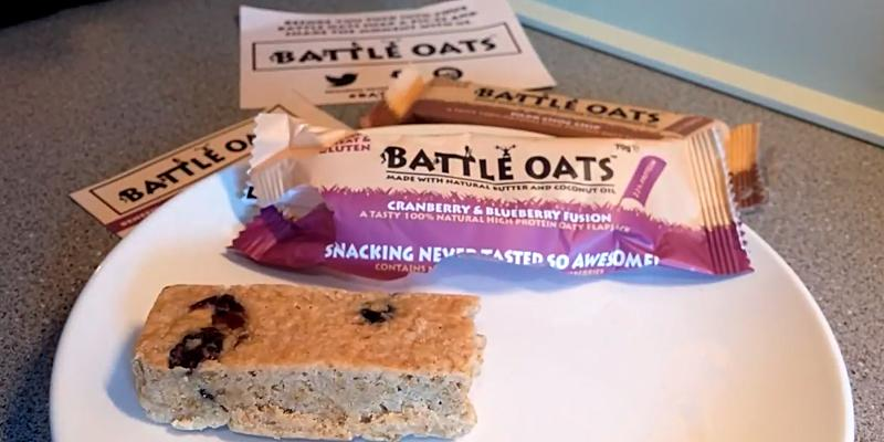 Review of Battle Oats Gluten Free Protein Bars
