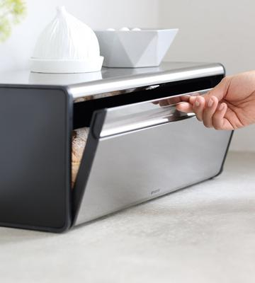 Review of Brabantia Fall Front Bread Bin