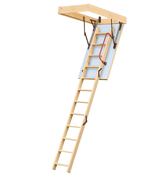 Lyte LELW3 Easiloft 3 Section Timber Loft Ladder