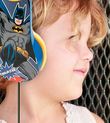 Review of Sakar Batman Headphones for Children