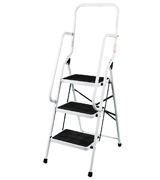 Home Discount 3 Step Ladder With Safety Handrail