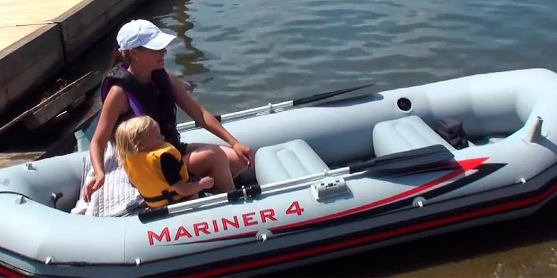 Review of Intex Mariner 4 Set with Aluminum Oars & High Output Air Pump