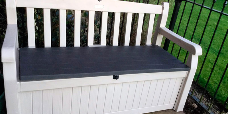 Review of Keter Eden Outdoor Storage Garden Bench