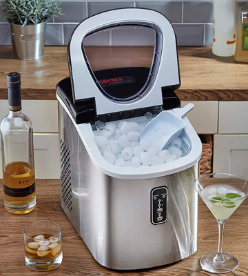 Review of Cooks Professional G2797 Ice Maker Machine Counter Top