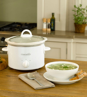 Review of Crock-Pot SCCPQK5025W-060 Slow Cooker, 2.4L, White