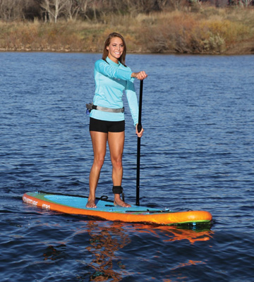 Review of SportsStuff 55-5010 Adventure 1030 iSUP Paddleboard