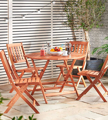 Review of VonHaus 22/051 Wooden Garden Furniture Set