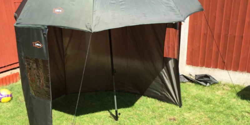 Review of Ultra Fishing Angling 2.2m Umbrella with Zip Sides Windows Brolly