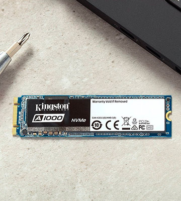 Review of Kingston A1000 Solid State Drive, M.2 2280, PCIe NVMe