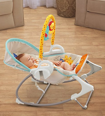 Review of Fisher-Price BFH06 3-in-1 Swing-n-Rocker