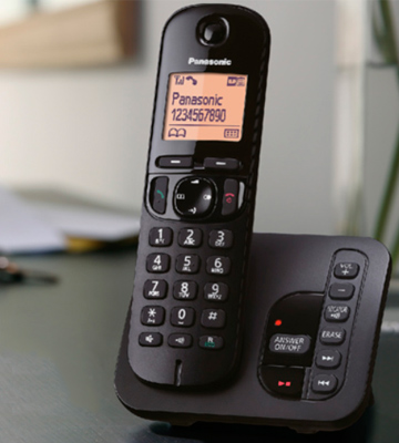 Review of Panasonic KX-TGC222EB Digital Cordless Phone