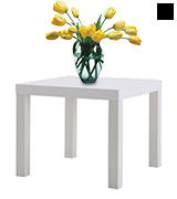 IKEA White Lack Side Table