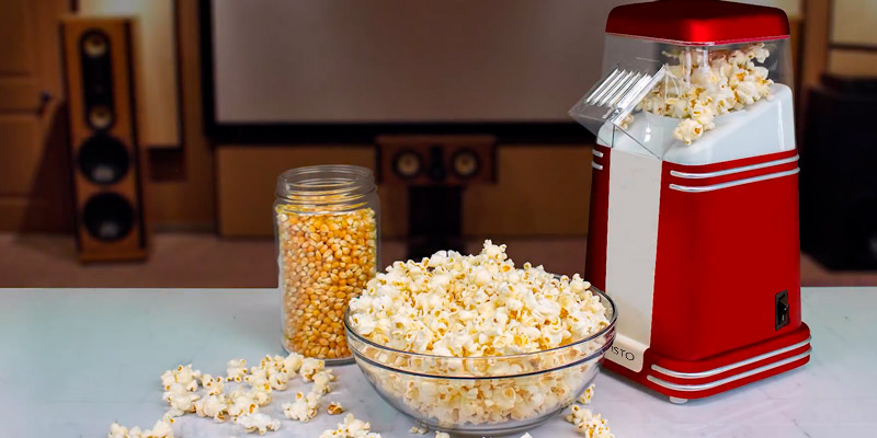 Review of Savisto SV-KITC-Z058 Vintage Retro Hot Air Popcorn Maker