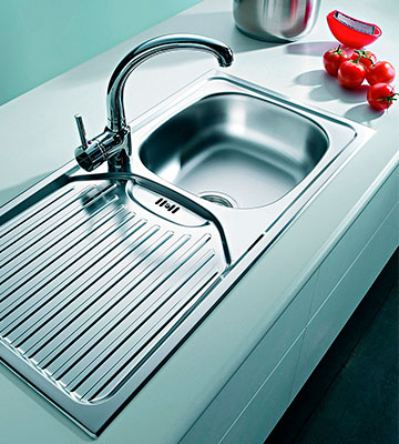 Review of Pyramis 100120402 CA1 Sink Unit Stainless Steel