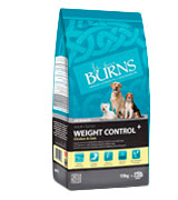 Burns Pet Weight Control Dog Food for Overweight or Diabetic Adult Dogs