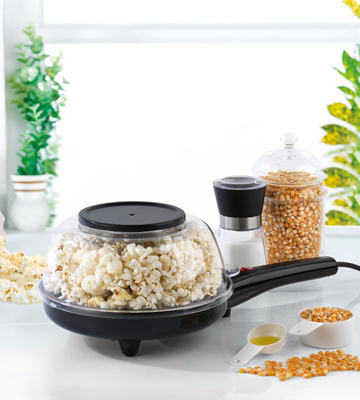 Review of Salter Electric Non-Slip Party Popcorn Maker