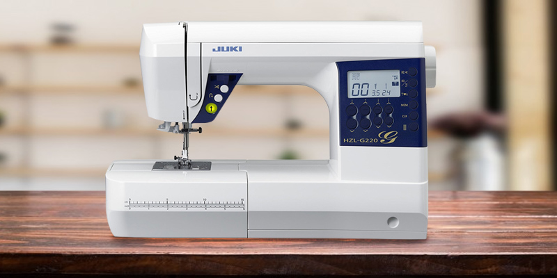 Review of JUKI HZL-G220 Sewing Machine