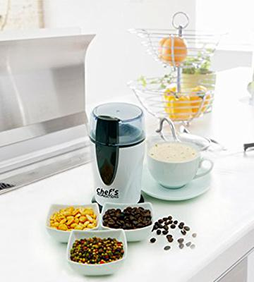 Review of Chef's Inspirations Twin Blade Coffee Bean Grinder
