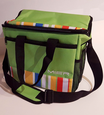 Review of MIER 15L Large Insulated Lunch Bag Picnic Cool