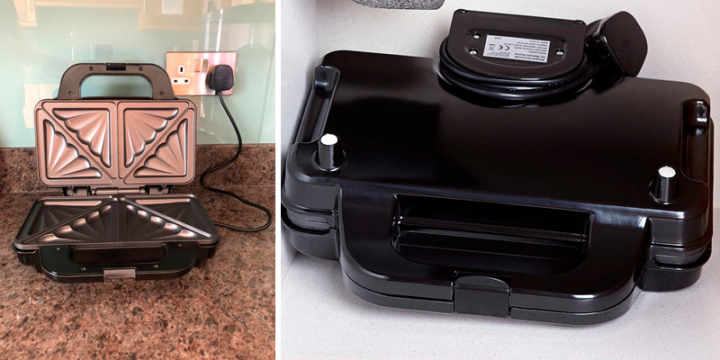 Detailed review of Global Gourmet 900W Sandwich Toaster/Toastie Maker