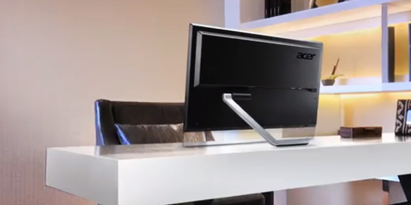 Acer T272HL Touch Screen Widescreen Monitor in the use