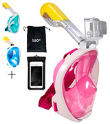 Vaporcombo Snorkel Mask Full View