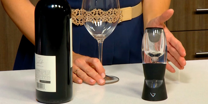 Review of Vinturi Essential V1010 Red Wine Aerator