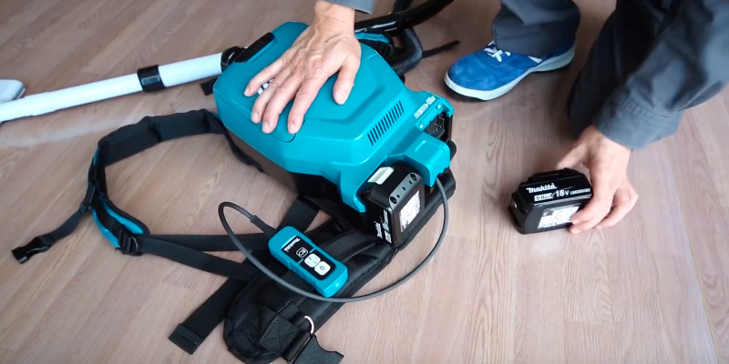Review of Makita DVC260Z Cordless Back Pack Vacuum Cleaner