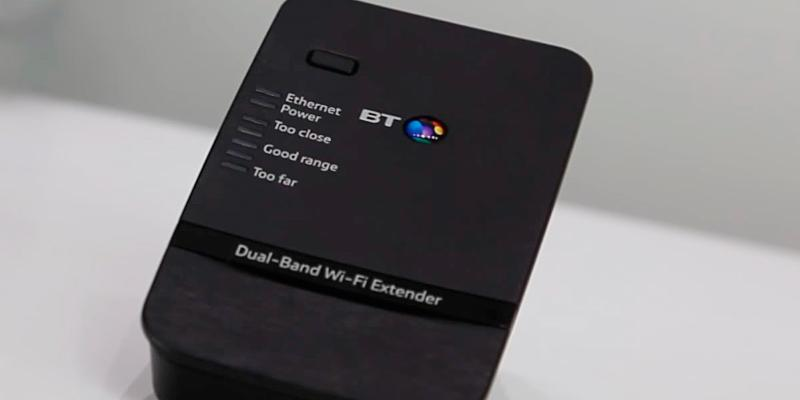Review of BT Dual-Band Wi-Fi Extender