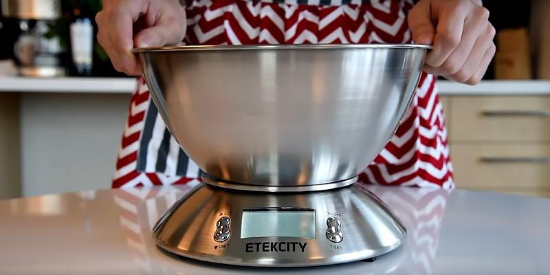 Review of Etekcity Stainless Steel Kitchen and Food Scale