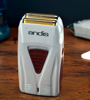 Review of Andis TS-1 Gold Titanium Foil Shaver