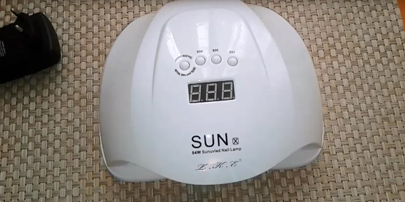 Review of Kisspet Sunuvled Nail Lamp 54W Professional UV LED Gel