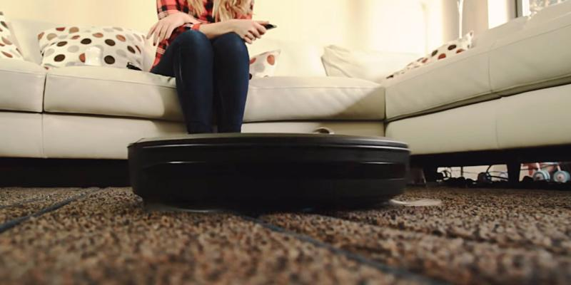 RoboVac XD Robot Vacuum Cleaner in the use