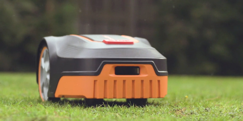 Lawnmaster L10 Robotic Lawnmower in the use