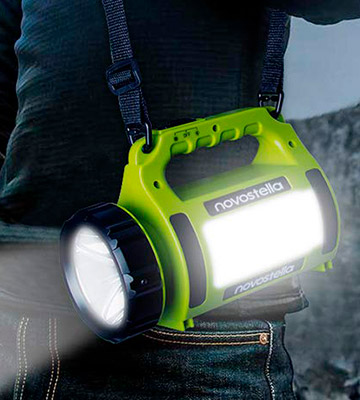Review of NOVOSTELLA Ustellar Rechargeable CREE LED Torch Multi-functional Camping LED Light (650 Lumens)