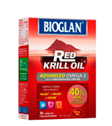 Bioglan Red Krill Oil plus Omega 3 EPA and DHA