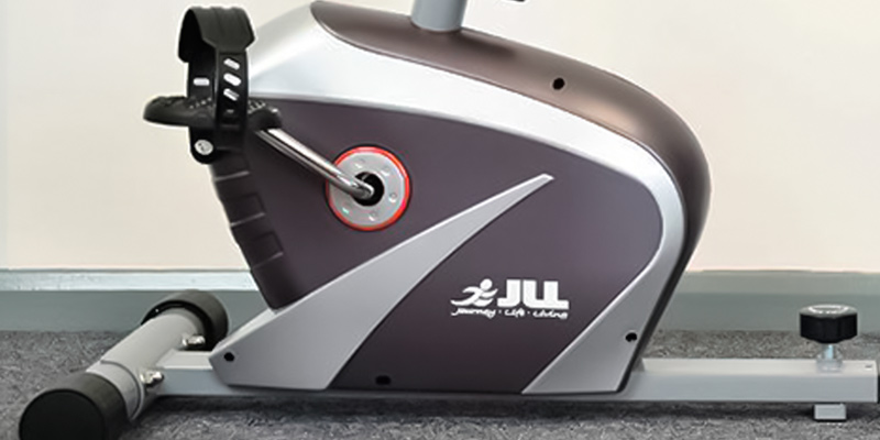 JLL RE100 Recumbent Home Exercise Bike in the use