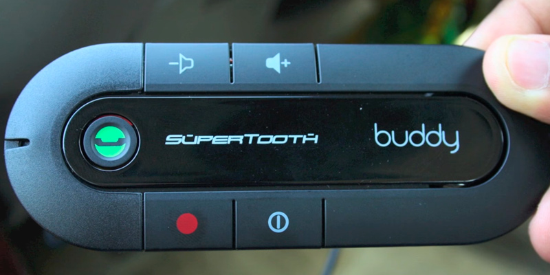 Review of SuperTooth Buddy Handsfree Speakerphone Bluetooth Car Kit