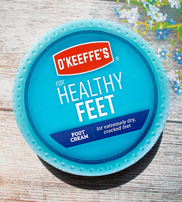 Review of O'Keeffe's Healthy Feet Foot Cream