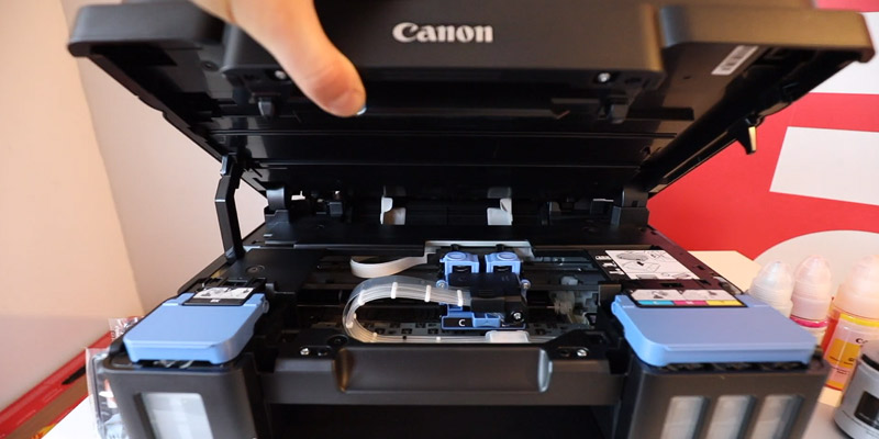 Canon PIXMA G3501 Multifunctional Printer in the use