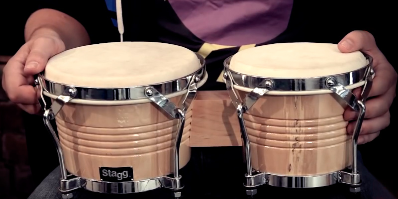 Review of Stagg BW-200-N Bongos, 7.5 inch and 6.5 inch