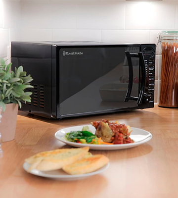 Review of Russell Hobbs RHM1714B Digital Solo Microwave